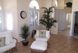 Tropical Living Room Terracotta Tile Floors   Zillow Digs   Zillow