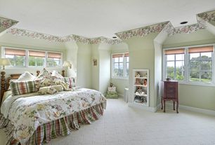 Mid-Range Wallpaper Border Design Ideas & Pictures | Zillow Digs ...