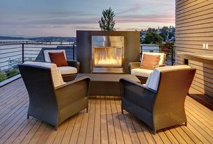 Sonoma Outdoor Fireplace. 1 tag Contemporary Deck with Outdoor fireplace  Elanamar designs sonoma chair cushions seating Fireplace Ideas Design Accessories Pictures Zillow