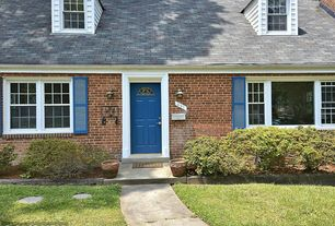 1 tag traditional front door with raised beds pathway exterior stone floors