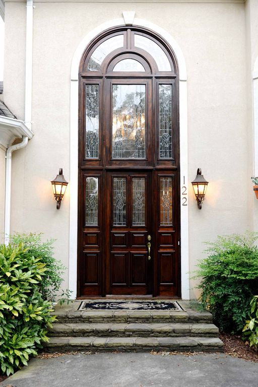 arched front doorTraditional Front Door with Arched window by Colin Johnson