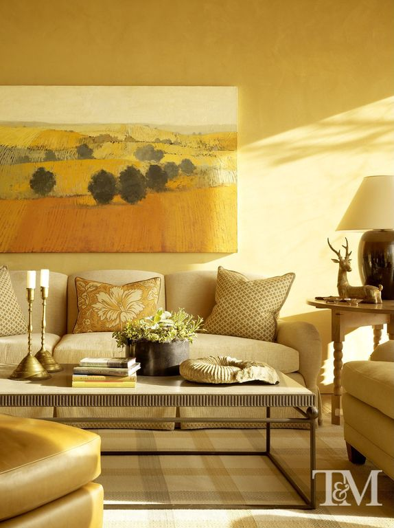 Yellow Living Room Design Ideas & Pictures | Zillow Digs | Zillow