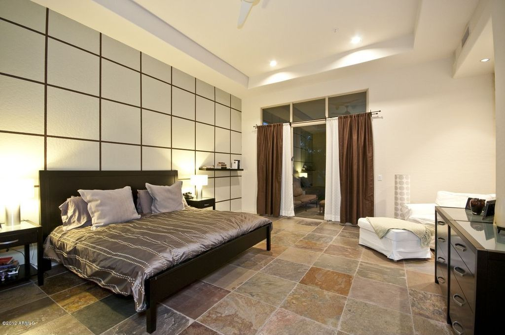 master bedroom tile floor