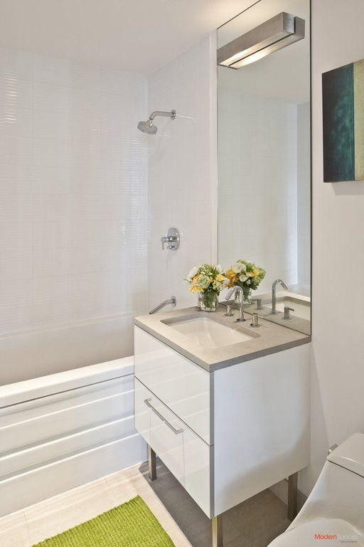 Modern Full Bathroom With Wall Sconce, Console Sink, Kohler K T14422 4