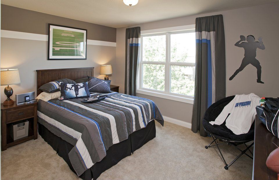 Kids Bedroom Window Treatments traditional kids bedroom with flush light & carpet | zillow digs