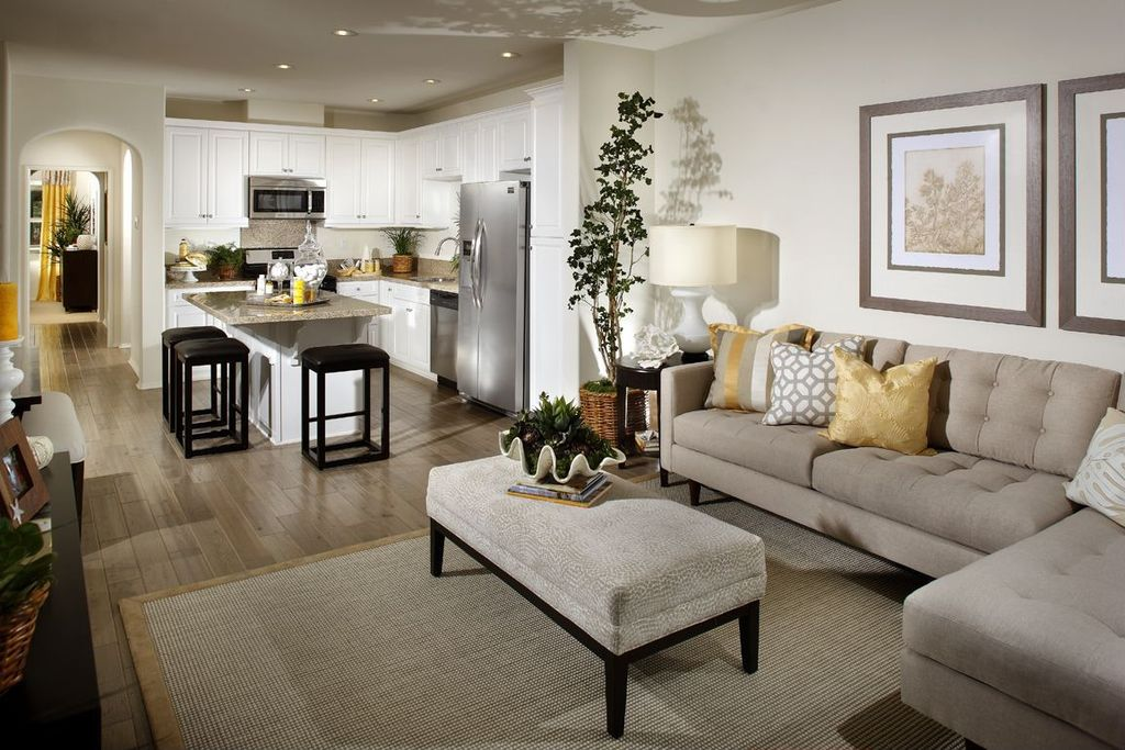 Contemporary Living Room With Pottery Barn Color Bound Natural Sisal Rug    Chino, OSP