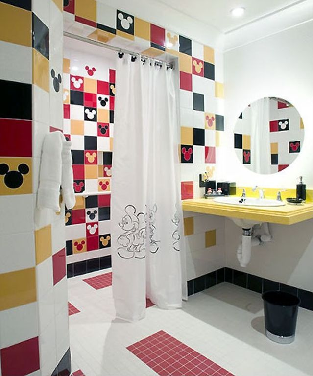 Contemporary Kids Bathroom With Daltile Natural Hues Daisy Ceramic Floor Wall Tile 23