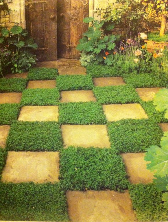 Cottage landscape and yard zillow digs zillow for Checkerboard garden designs