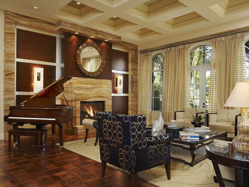 contemporary living roomarnold schulman design group