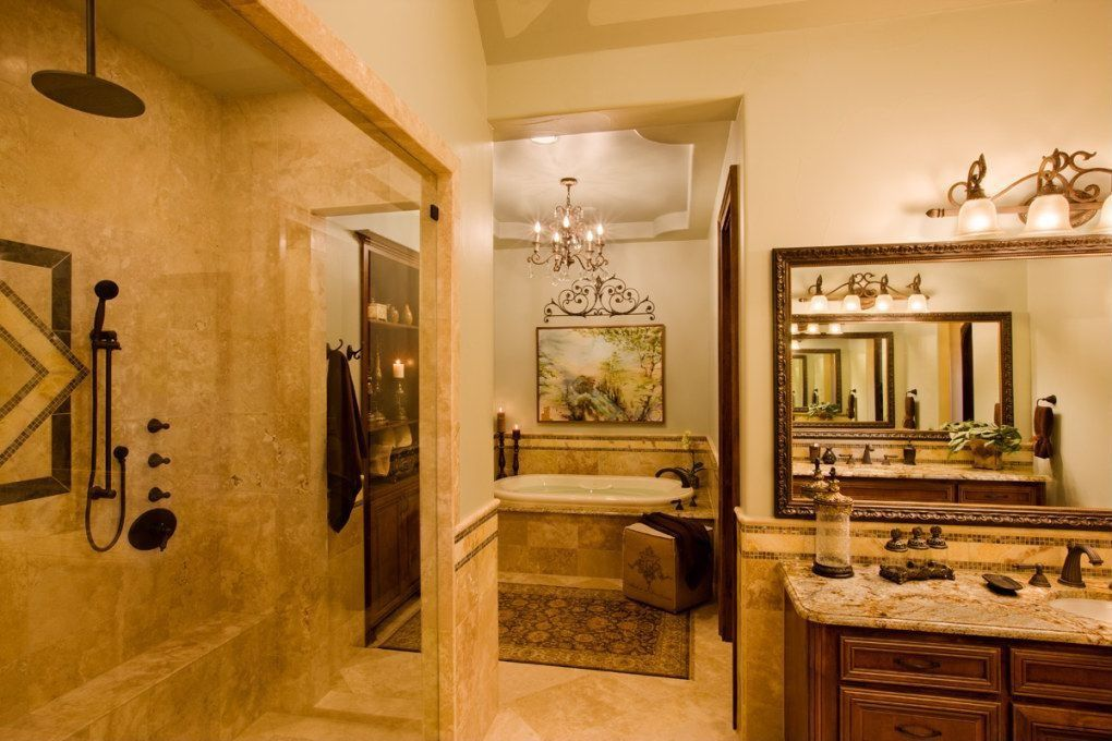 Mediterranean Master Bathroom by Bethany Jenkins | Zillow Digs ...