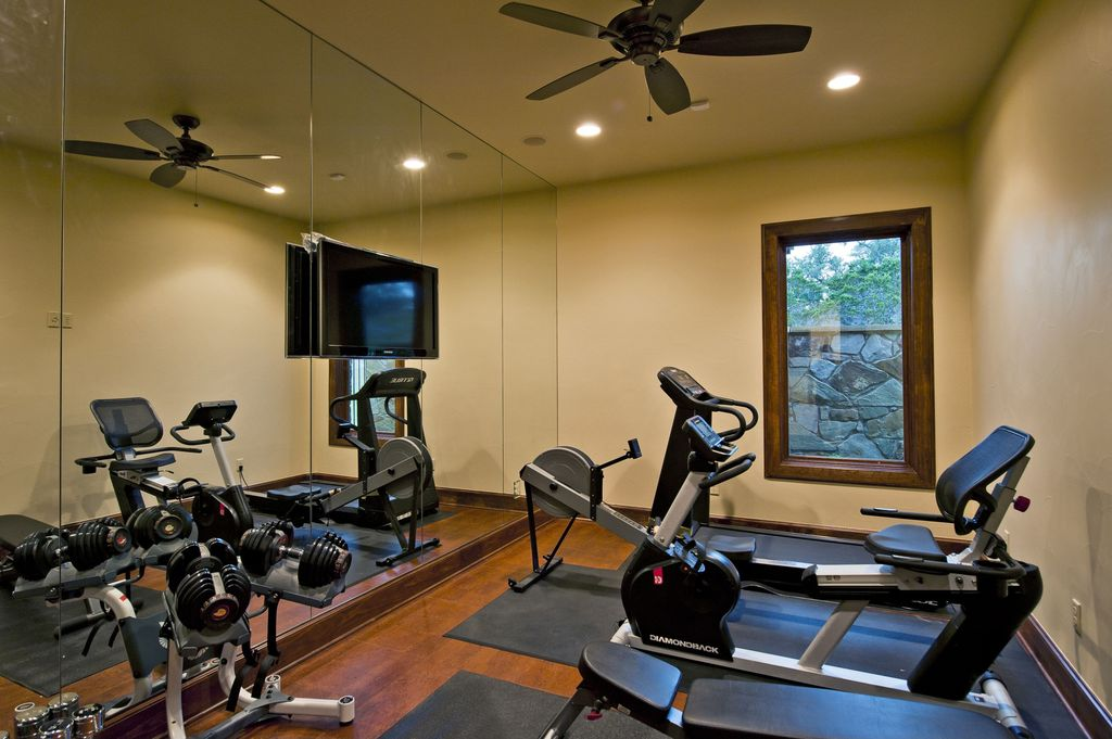 Mediterranean Home Gym Design Ideas & Pictures | Zillow Digs | Zillow