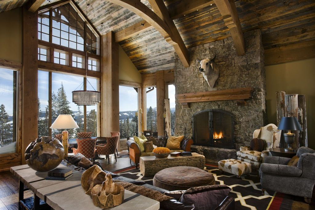 Rustic Living Room By Locati Architects Zillow Digs Zillow