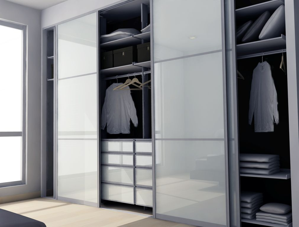 Modern Closet With Laminate Floors By Modu Home Zillow Digs Zillow