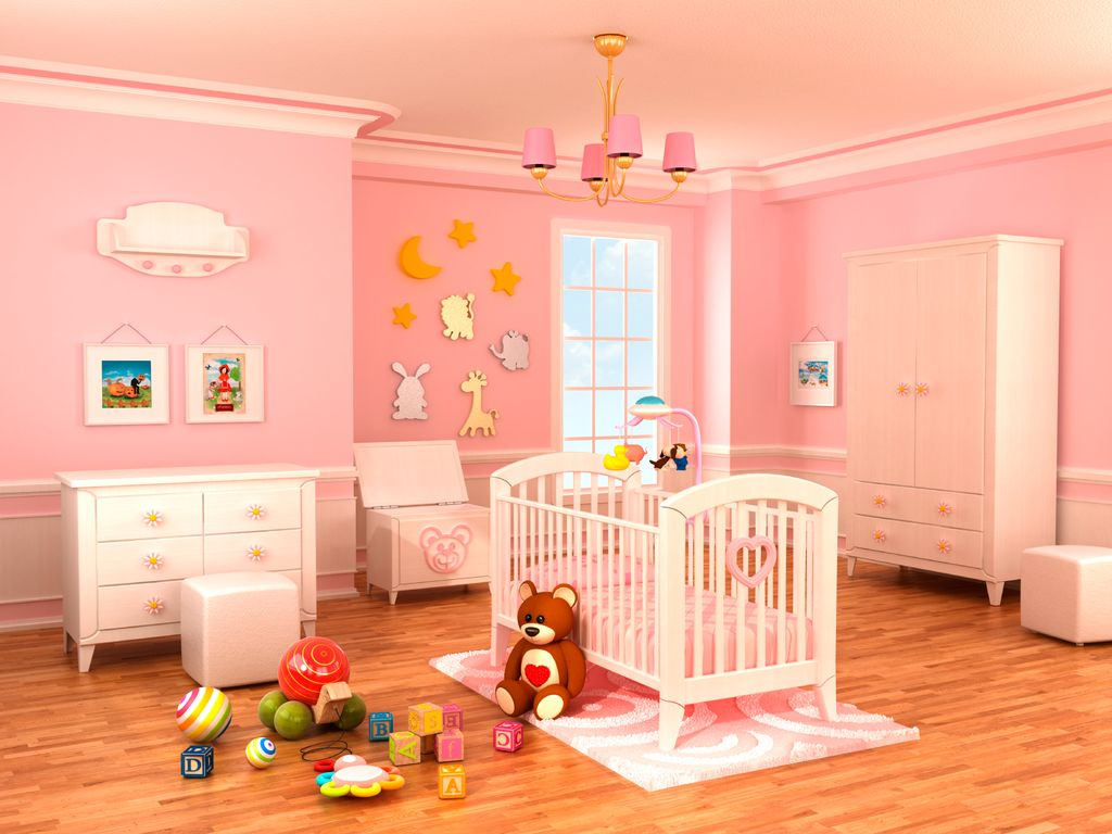 Contemporary nursery with hardwood floors by home stratosphere contemporary nursery with crown molding wainscoting hardwood floors chair rail chandelier arubaitofo Image collections