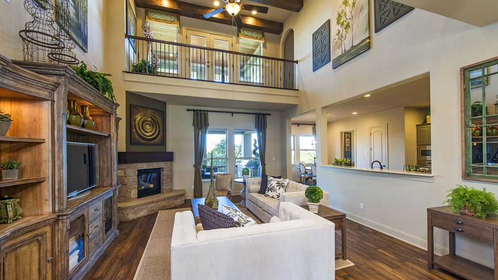 Contemporary Living Room with Ceiling fan  Balcony  Hardwood floors  metal  fireplace  High. Living Room Balcony Design Ideas   Pictures   Zillow Digs   Zillow