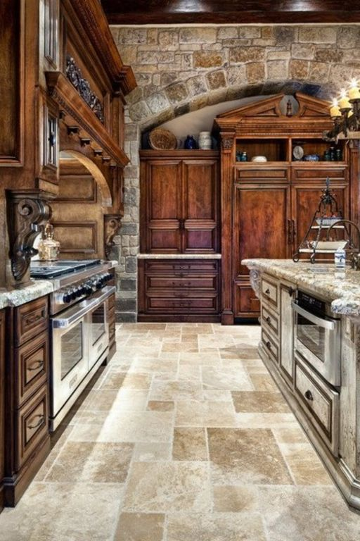 Custom Rustic Kitchens rustic kitchen with raised panel & custom hood | zillow digs | zillow