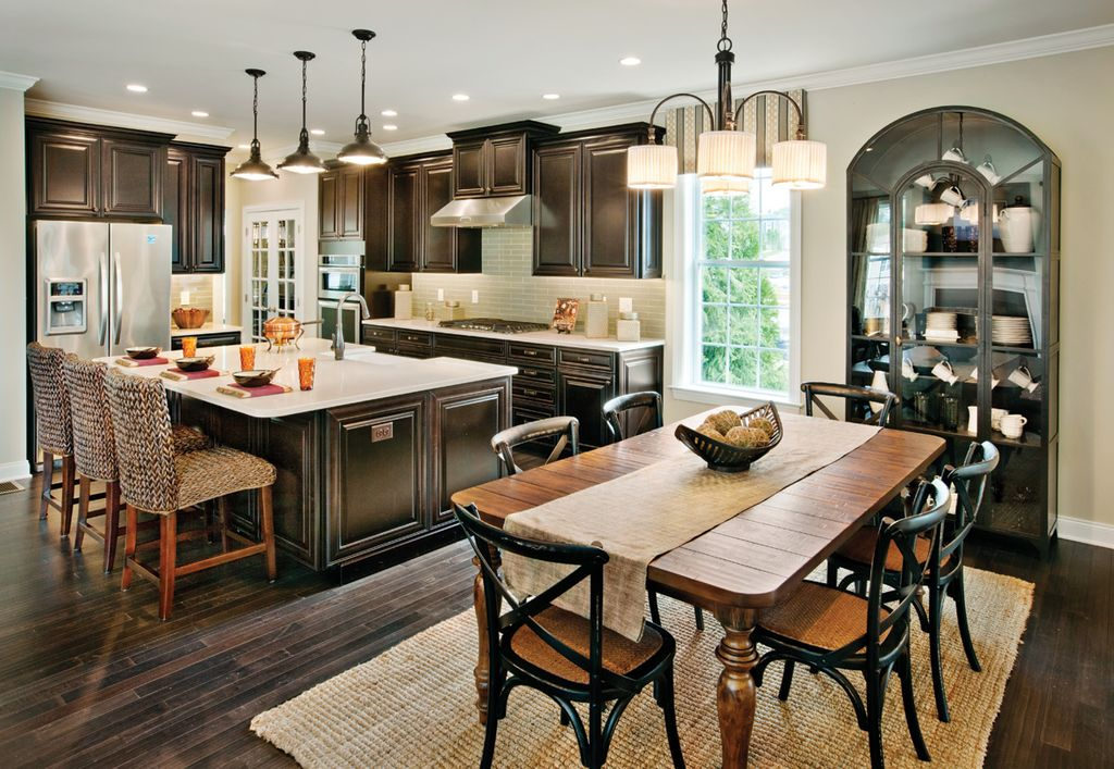 Luxury Transitional Dining Room Design Ideas & Pictures | Zillow ...