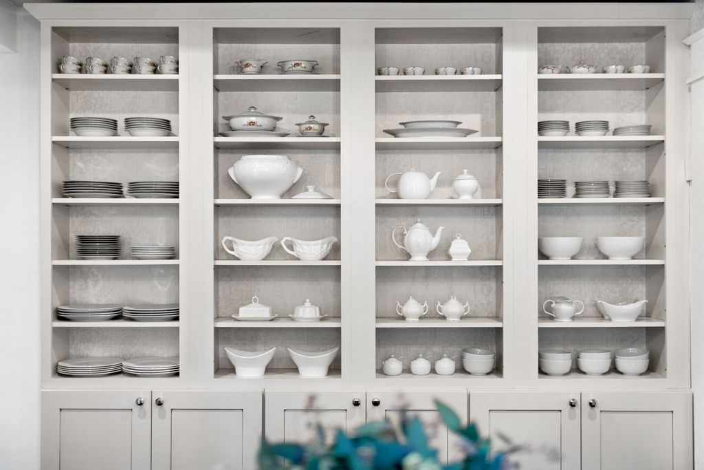 Easy Track brand shelving or martha Stewart in pantry