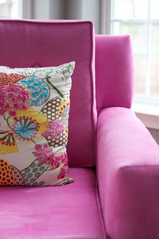Contemporary Living Room with Accent pillow by April Force Pardoe ...