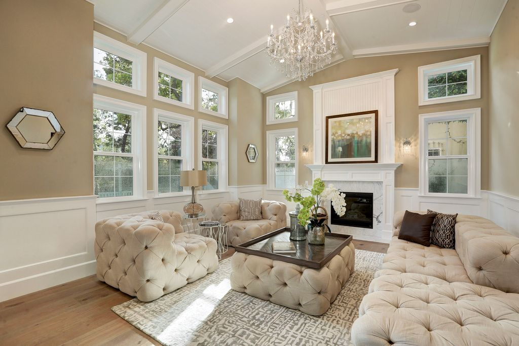 Luxury Traditional Living Room Design Ideas & Pictures | Zillow ...