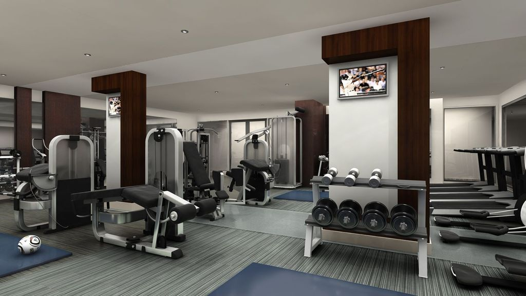 Modern Black Home Gym Design Ideas Pictures Zillow Digs Zillow - Home gym design ideas