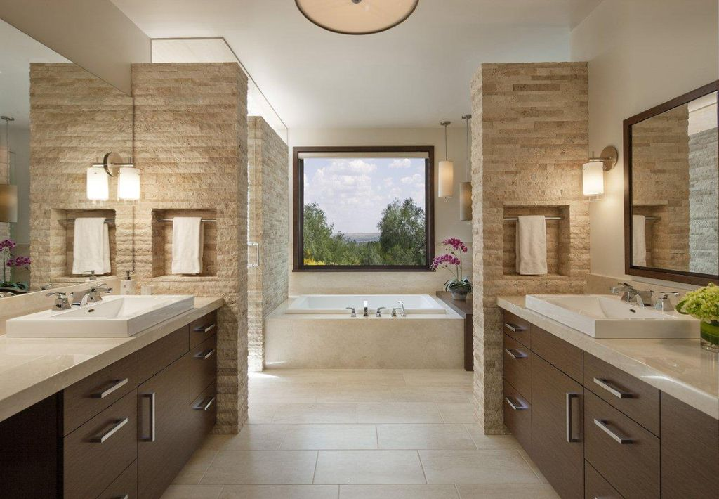 Contemporary Master Bathroom By Mosaicarchitects Zillow