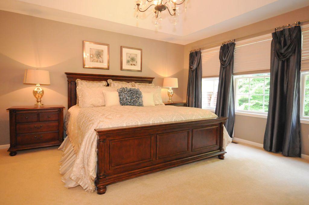 Restoration hardware bed frame elevated queen platform bed traditional master bedroom with Master bedroom chandelier size
