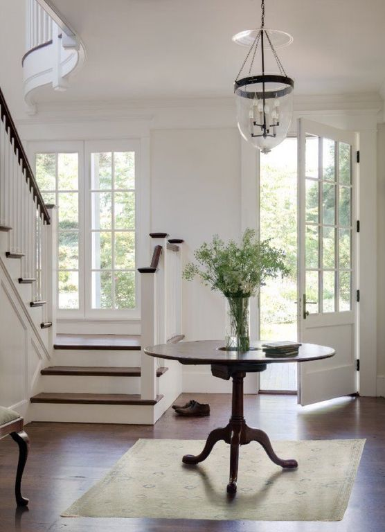 Foyer Ceiling Queen : Traditional entryway with carpet pendant light zillow