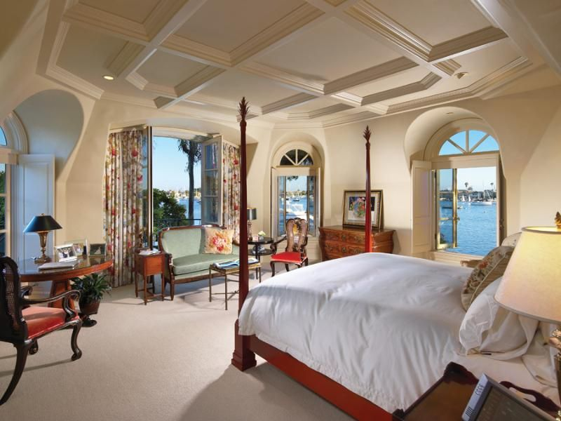 1 tag Traditional Guest Bedroom with Crown molding  High ceiling  Carpet   Box ceiling. Mediterranean Bedroom Design Ideas   Pictures   Zillow Digs   Zillow