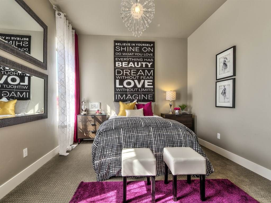 guest bedroom with carpet chandelier in eagle id zillow digs transitional guest bedroom with retro signz inspirational wall decor ikea trysil 3 drawer chest