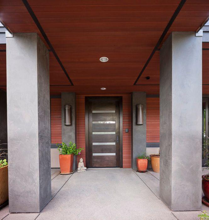 Glass Panel Exterior Door contemporary front door with exterior tile floorsgelotte