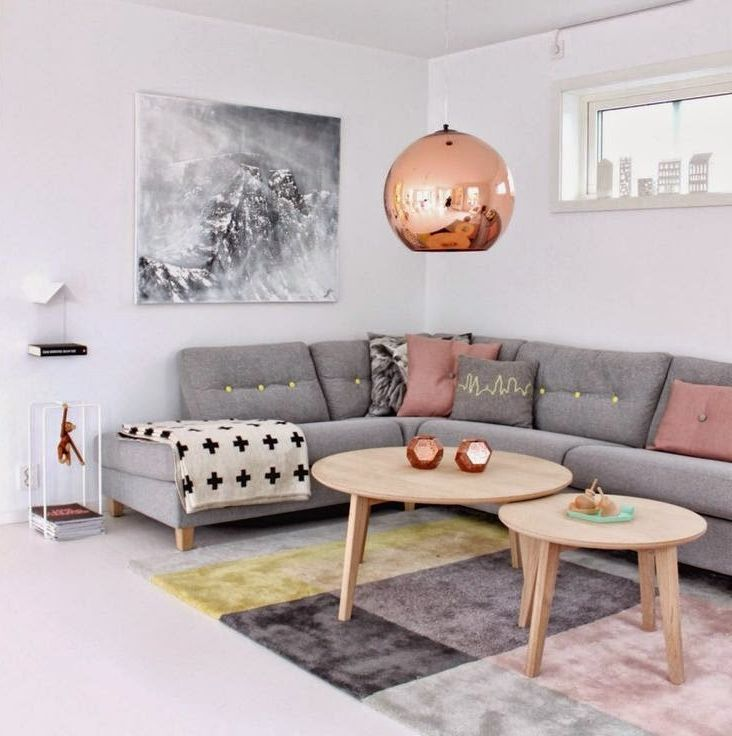 Modern Living Room With Concrete Floors amp Carpet Zillow