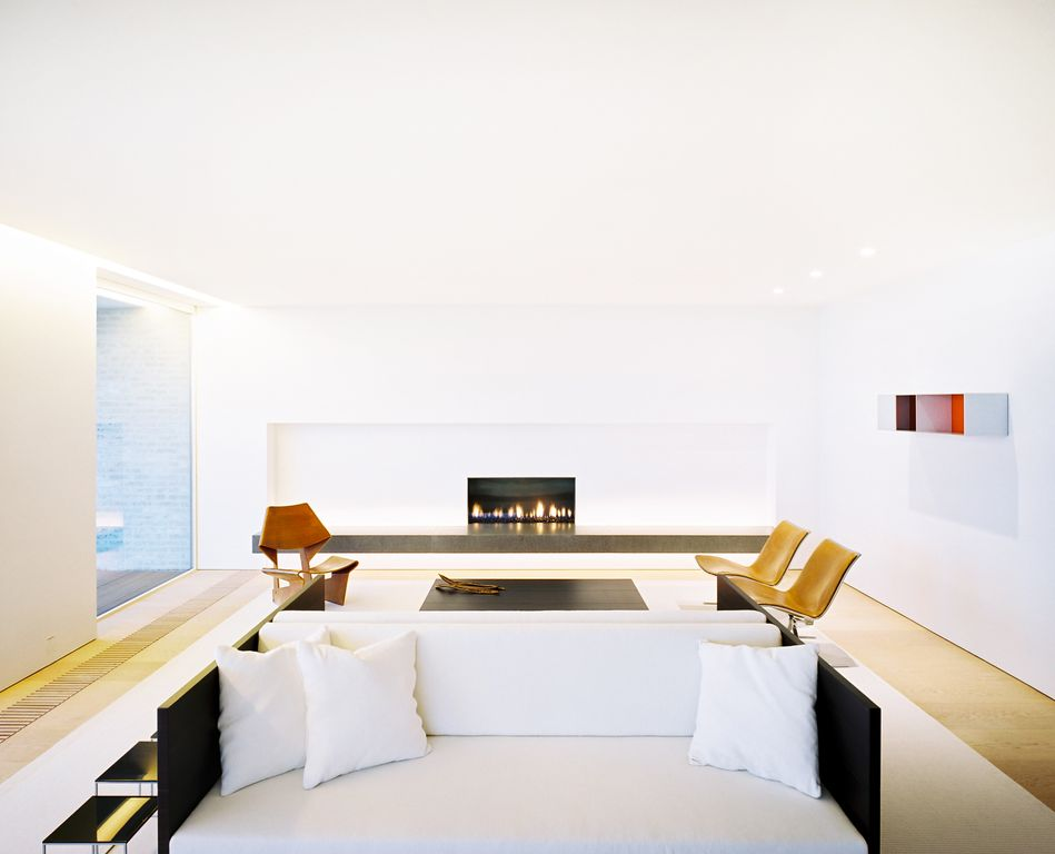 Modern White Living Room Design Ideas & Pictures | Zillow Digs ...