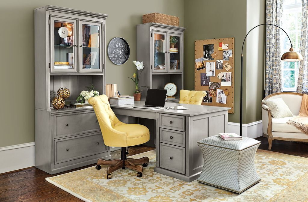 ballard design home office. Contemporary Home Office with Hartley Chalkboard  Courbe Ottoman Tuscan Desk Return Brooklyn Floor by Ballard Designs Zillow Digs