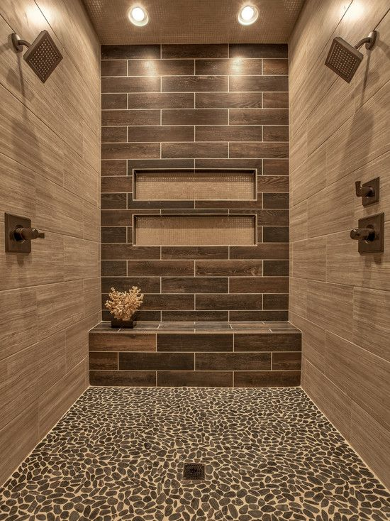 Contemporary Wall Tile contemporary 3/4 bathroom with limestone floors | zillow digs | zillow