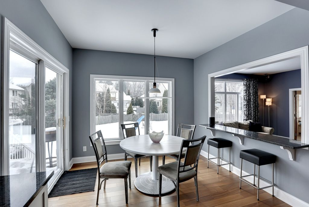 Dining room with high ceiling hardwood floors in eden prairie mn zillow digs zillow - Easy transitional home design ...