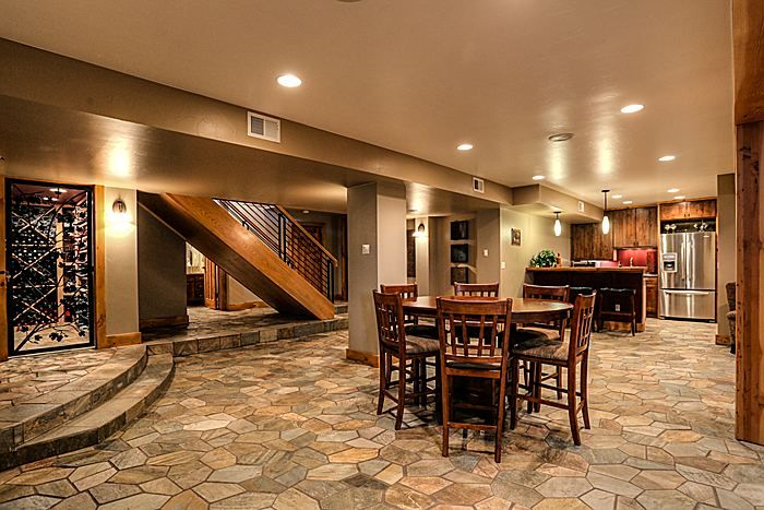 rustic basement ideas - design, accessories & pictures | zillow