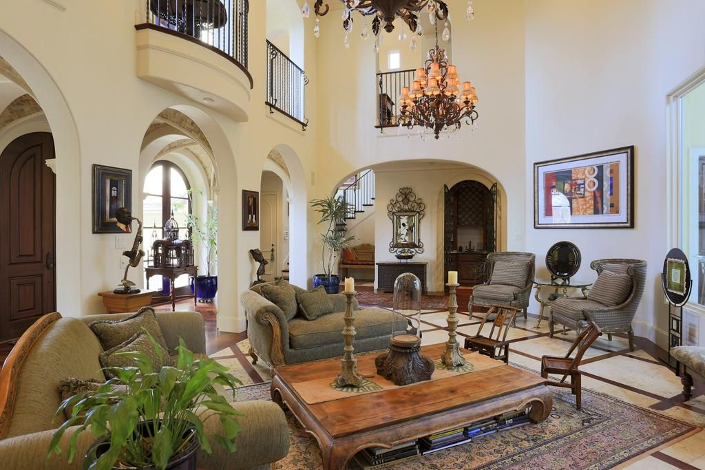 mediterranean living room pictures - nakicphotography