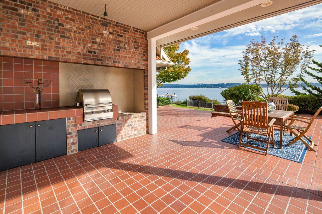 porch with exterior terracotta tile floors exterior tile floors outdoor kitchen wrap