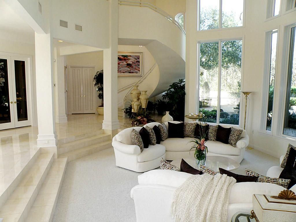traditional living room travertine tile floors | zillow digs | zillow