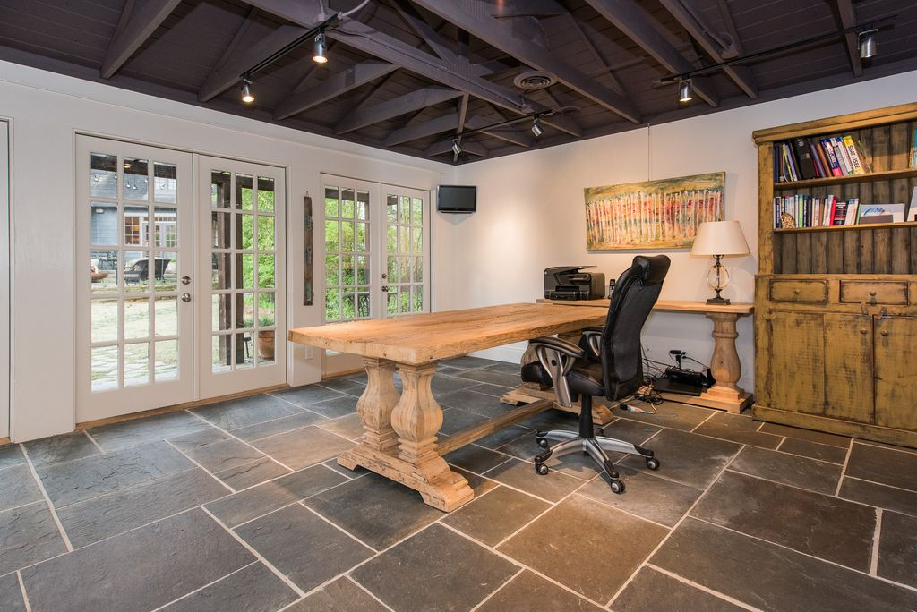 luxury rustic home office design ideas & pictures | zillow digs