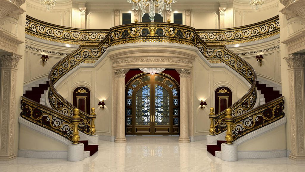 Traditional Staircase with Wainscoting Balcony Zillow Digs