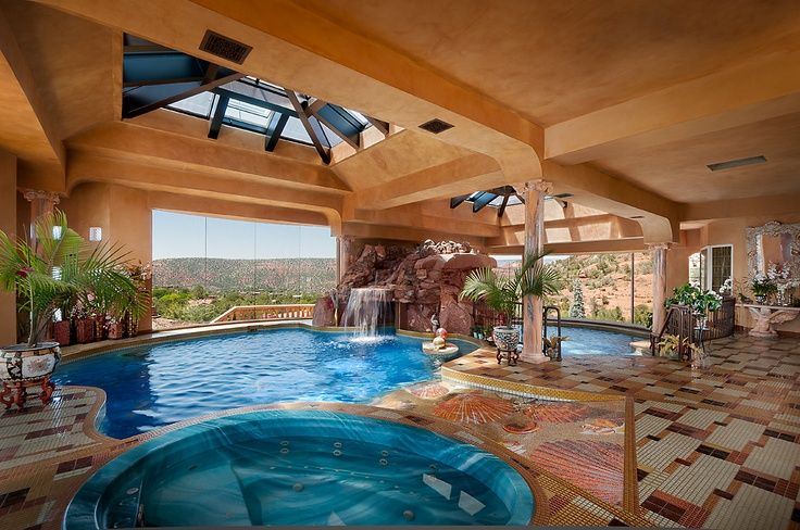 Contemporary Swimming Pool with Skylight Indoor pool Zillow