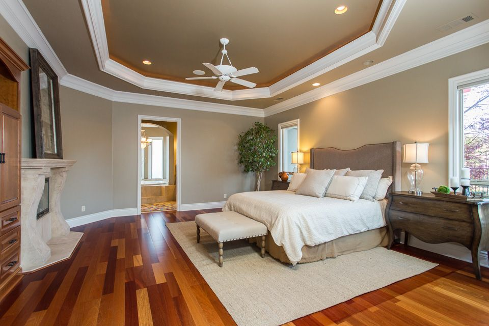 4 tags traditional master bedroom with 52 casa vieja paseo white ceiling fan - Traditional Bedroom Designs Master Bedroom