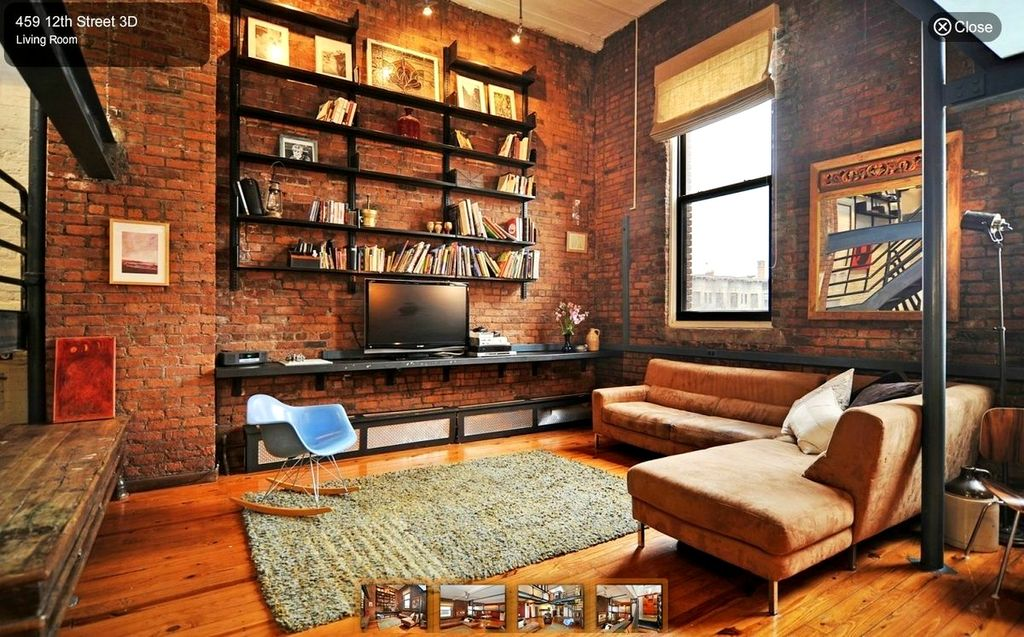 Industrial Living Room Design zillow digs - best industrial living room designs | zillow