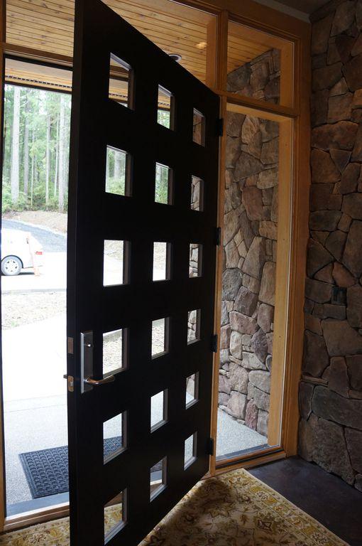 Glass Panel Exterior Door contemporary front door with glass panel doormichele interiors