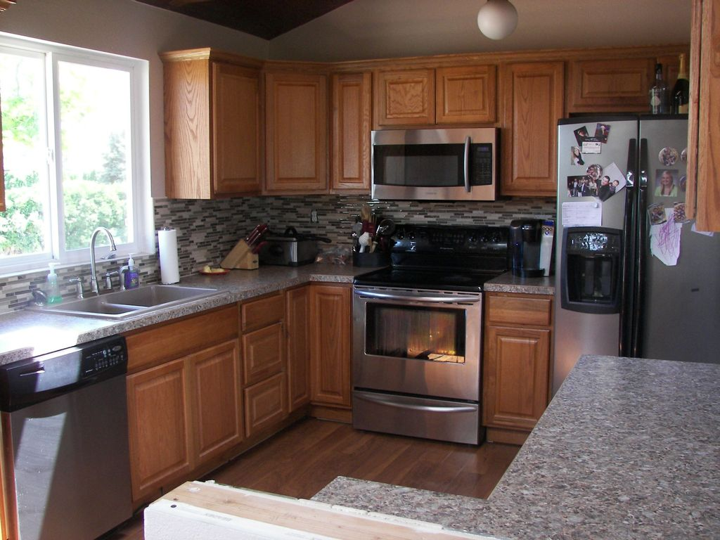 Kitchen Cabinets Yakima Wa craftsman kitchen with l-shaped & inset cabinets in yakima, wa