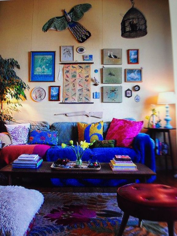Eclectic Living Room With Chinatown Kite Shop Chinese Peacock Ikea ULLKAKTUS Cushion Dark