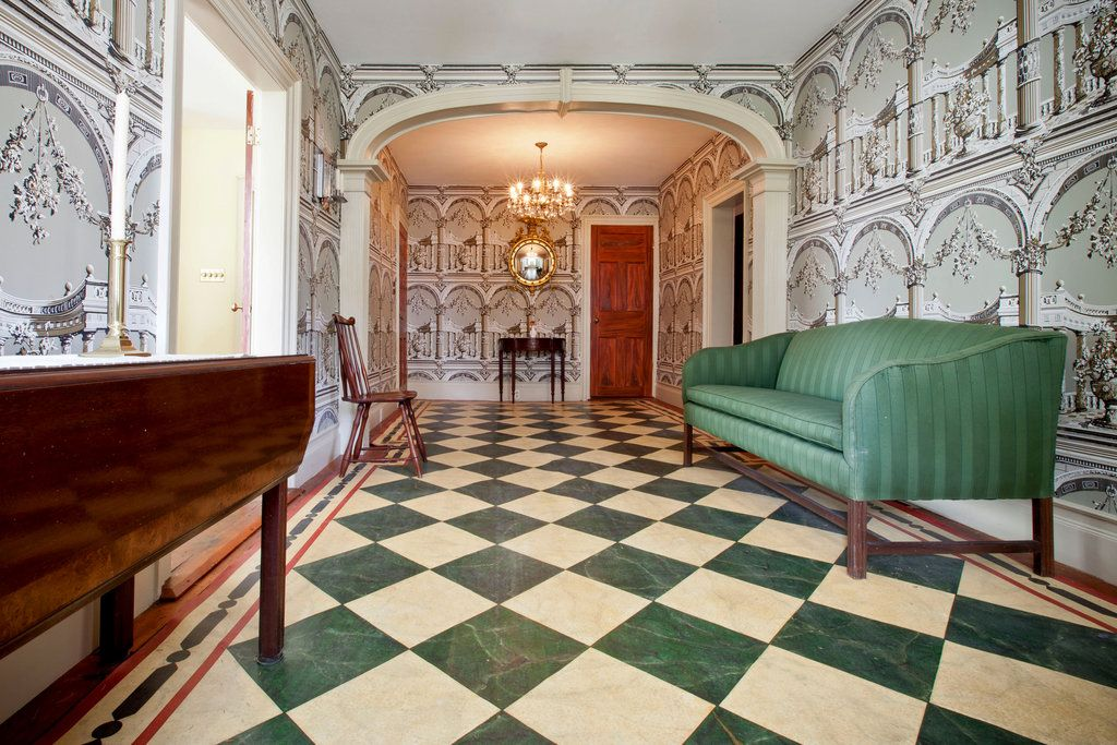 Traditional Foyer Games : Traditional entryway by tom bartolomeo zillow digs