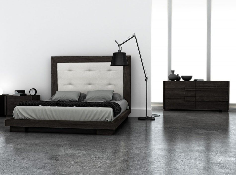 Modern Master Bedroom With Concrete Floors By Umodstyle Furniture Zillow Digs Zillow